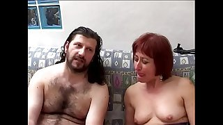 Mature orgasms for the bitch grandmother