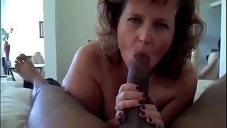 Hot Granny With Fat Ass Gets A Big Black Cock