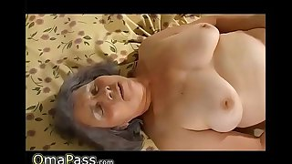 Chubby Lesbian Grandma with younger - theporncentral.com