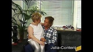 Achim fucks a chubby grandma