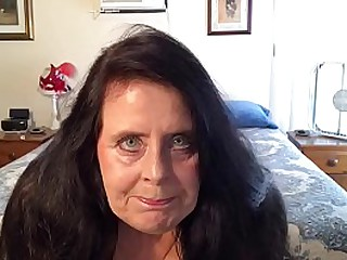 WET PUSSY GRANNY FIRST TIME ON CAMERA MASTURBATES UNTIL SHE CUMS.