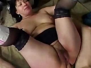 Chubby Grandma Anal