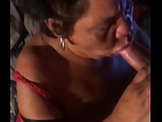 My friends grandma loves to suck my  22 yr old cock when we are alone