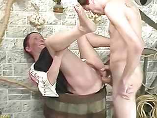 ugly hairy mom rough banged by stepson
