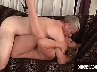 Mature Karen Summers Fucks a Thick Cock