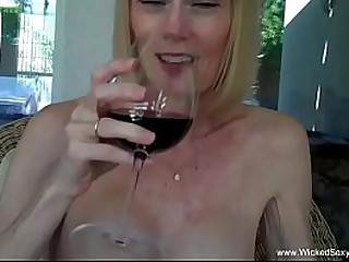 Awesome Amateur Granny With Dick