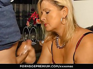 XXX OMAS - Naughty granny hardcore sex and cum in mouth