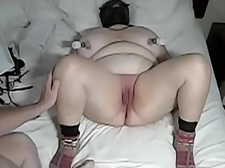 Granny cunt whipping in true slow motion (Slo Mo)