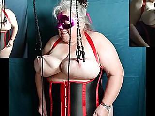 Granny tit lift attempt 10.08.20 sklavin slave