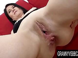 Granny Vs BBC - Mature Niky IR Anal