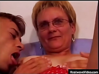 Granny The Whore #1 - Nemmeth - Grandma warms up men