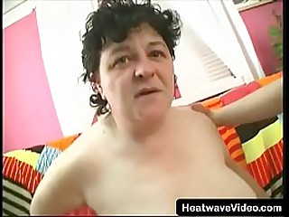 Hey My Grandma Is A Whore #29 - Fat sexy granny gets hairy pussy fucked by an a fit 18yo grandson