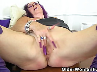 Grandmother Zadi from the UK rubs her old cunt with her long nailed fingers (brand NEW video available in Full HD 1080P). Bonus video: English granny Elle.
