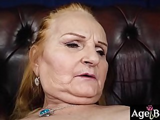 Lusty granny Marianne finds new love
